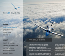The Jet Division Website