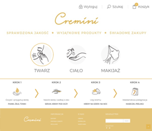 Cremini Online Store