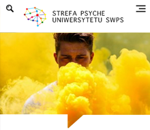 SWPS UNIVERSITY BLOG FOR STREFA PSYCHE